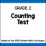 Counting Test (Grade 2)
