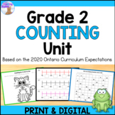 Counting Unit for Grade 2 (Ontario Curriculum)