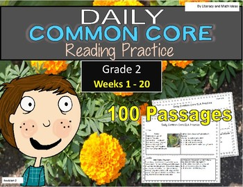 Grade 2 Daily Common Core Weeks 1-20
