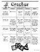 Grade 2 Daily Math Calendar Questions - Canadian Version