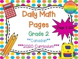 Grade 2 Daily Math Days 1-20