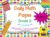 Grade 2 Daily Math Bundle