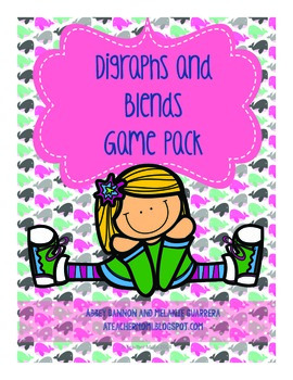 Grade 2 - Digraphs and Blends Review Games