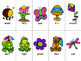 Grade 2 Dolch Word Game - Spring Themed