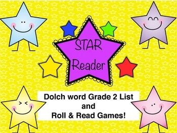 Grade 2 Dolch Word Roll and Read