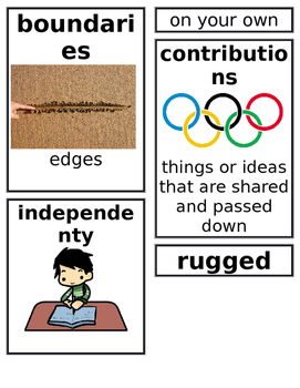 Grade 2: Domain 3 Core Vocabulary Image Cards