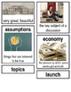 Grade 2: Domain 5: The War of 1812 Common Core Vocabulary Image Cards