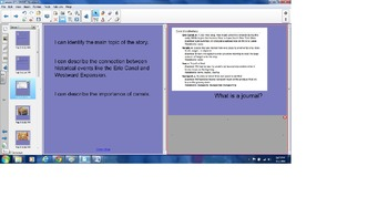 Grade 2- ELA Domain 7- Westward Expansion (Lesson 3)