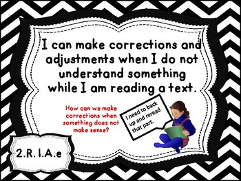 Grade 2 ELA I Can Statements Aligned with  Missouri Learning Standards