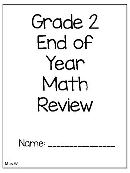 Grade 2 EOY Math Review