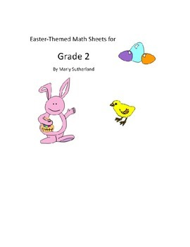 Grade 2 Easter Math Sheets
