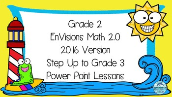 Grade 2 EnVisions Math 2016 Version 2.0 Inspired Step Up to Grade 3 Power Point