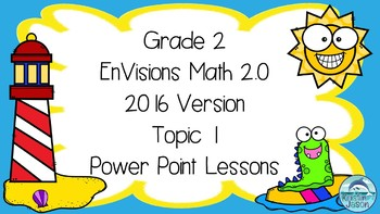 Grade 2 EnVisions Math 2016 Version 2.0 Topic 1 Inspired Power Point Lessons