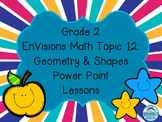 Grade 2 EnVisions Math Topic 12 Common Core Inspired Power Point Lessons