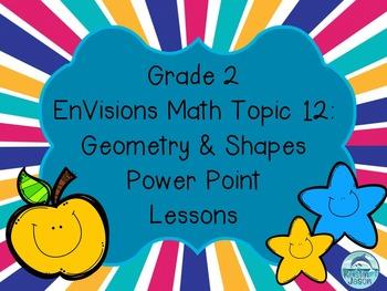 Grade 2 EnVisions Math Topic 12 Common Core Aligned Power