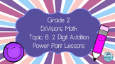Grade 2 EnVisions Math Topic 8 Common Core Inspired Power Point Lessons