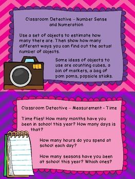 Grade 2 Math Centres Review - Classroom Detectives