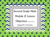 Grade 2 Engage NY Math Module 2 Learning Targets Large Format