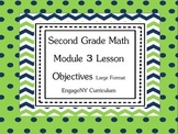 Grade 2 Engage NY Math Module 3 Learning Targets Large Format