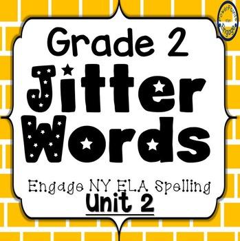 Grade 2 Engage NY SKills Unit 2 Jitter Words