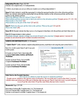 Grade 2 Envision 2.0 Lesson Plan for Volume 1 Topic 6.6