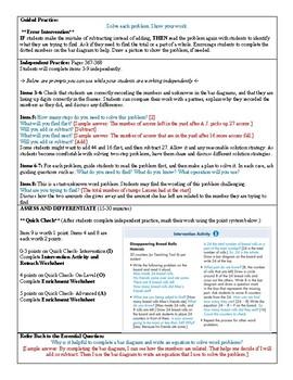 Grade 2 Envision 2.0 Lesson Plan for Volume 1 Topic 6.8