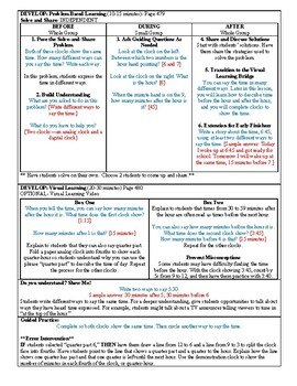Grade 2 Envision 2.0 Lesson Plan for Volume 1 Topic 8.7