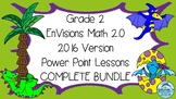 Grade 2 Math Power Point Envisions Math Version 2016 Inspired COMPLETE BUNDLE