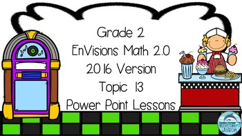 Grade 2 Envisions Math 2.0 Version 2016 Topic 13 Power Point Lessons
