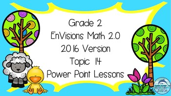 Grade 2 Envisions Math 2.0 Version 2016 Topic 14 Inspired Power Point Lessons
