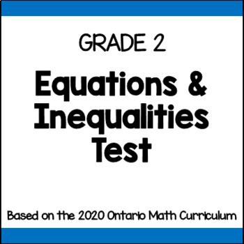 Grade 2 Expressions & Equality Quiz