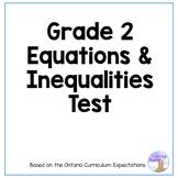 Grade 2 Equal Expressions Quiz