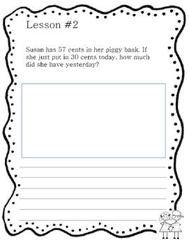 Grade 2  Math Module 4 Application Problems Workbook