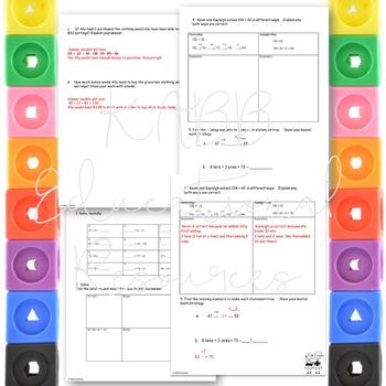 Grade 2  Math Module 4 End of Module Practice Assessments