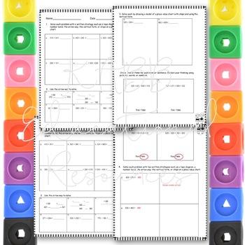 Grade 2  Math Module 5 Mid Module Reviews.  2 Different Ones!