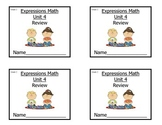Grade 2 Expressions Math Unit 4 Review/Study Guide