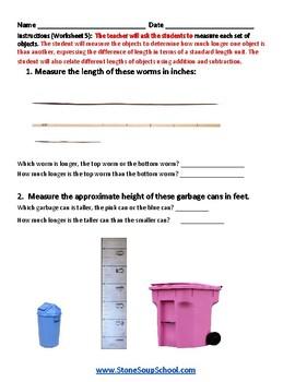 Grade 2 -  Iowa - Measurement and Data  - Common Core