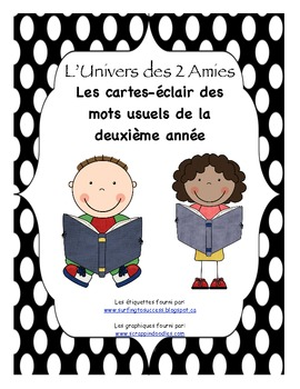 Grade 2 French Immersion Sight Word Flash Cards