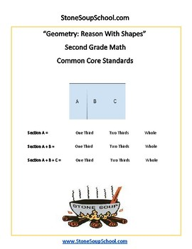 Grade 2 - Geometry for Traditional Students - Common Core