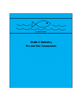 Grade 2 Geometry Pre and Post Assessment Bank