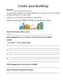 """Grade 2 Geometry Summative Activity """"Create your own Building!"""""""