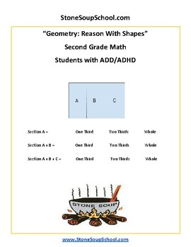 Grade 2 - Geometry for Students with ADD/ADHD - Common Core