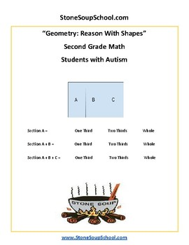 Grade 2 - Geometry for Students with Autism - Common Core