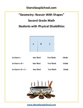 Grade 2 - Geometry for Students with Physical Disabilities  - Common Core
