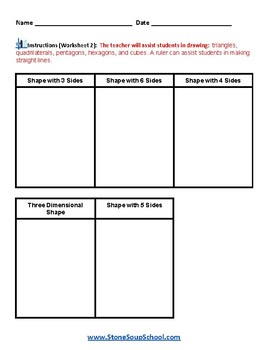 Grade 2 - Geometry for Students with Mental Health or Medical Conditions
