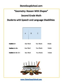 Grade 2 - Geometry for Students with Speech or Language Impairments