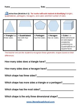 Grade 2 - Geometry for Students with Visual Impairments - Common Core
