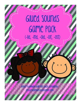 Grade 2 - Glued Sounds -ild, -ind, -old, -olt, -ost Phonics Games