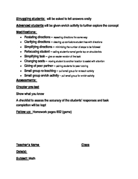 Grade 2 Go Math Chapter 10 lesson plans