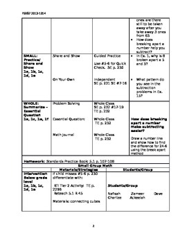 Grade 2 Go Math Chapter 5 Lesson Plans
